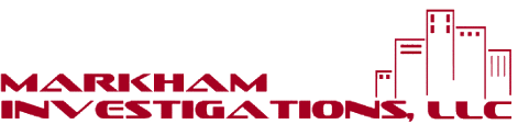 Logo, MARKHAM INVESTIGATIONS, LLC - Private Investigators